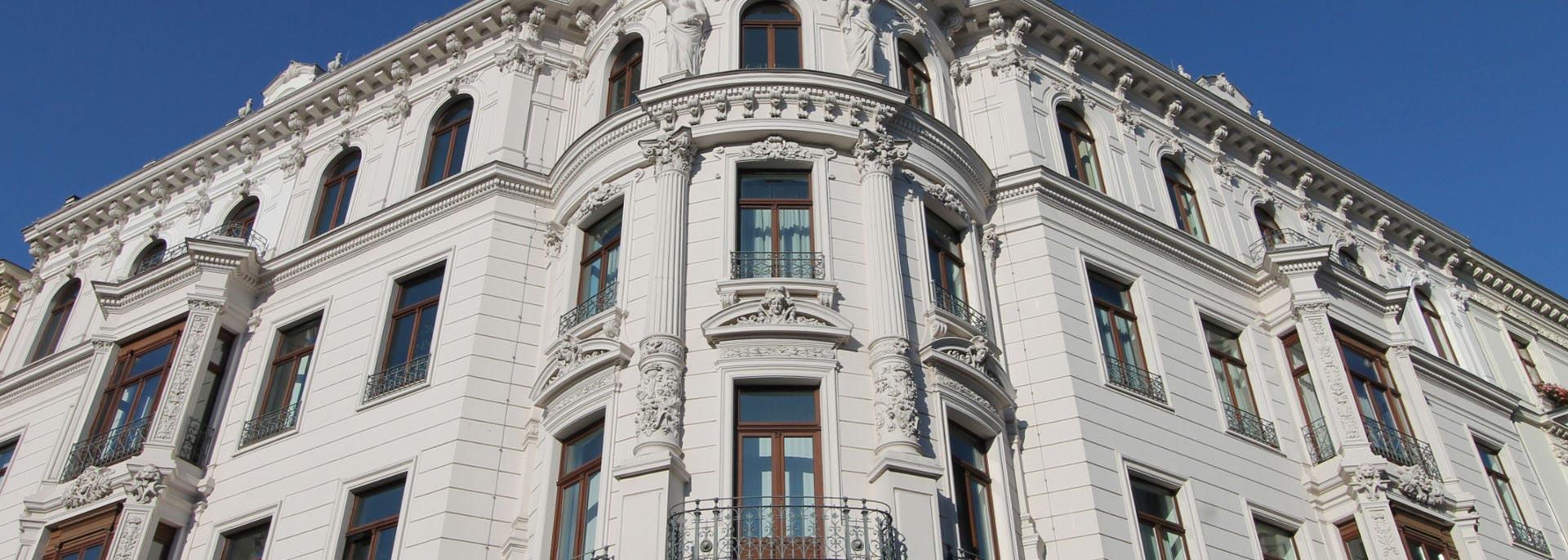 der IMMOBILIENMakler - Hausfassade